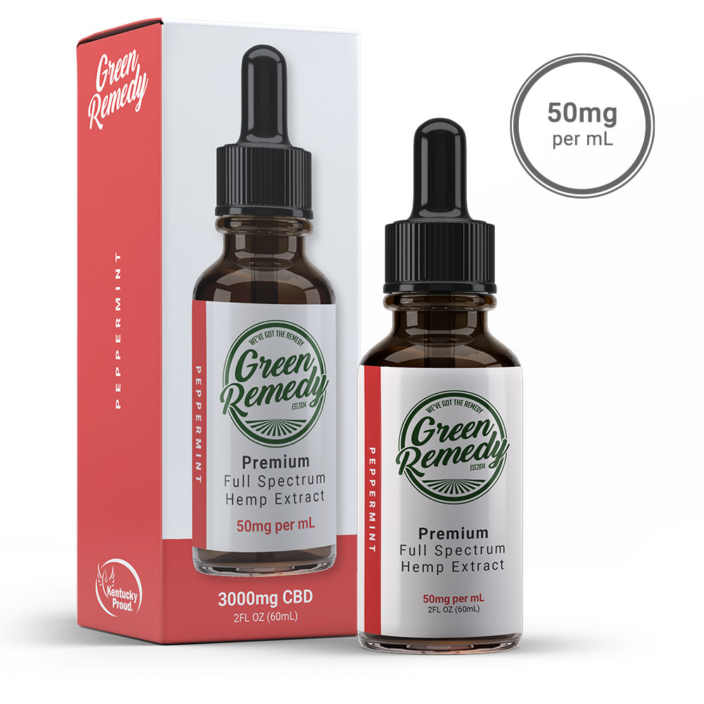 3000MG CBD FULL SPECTRUM PEPPERMINT
